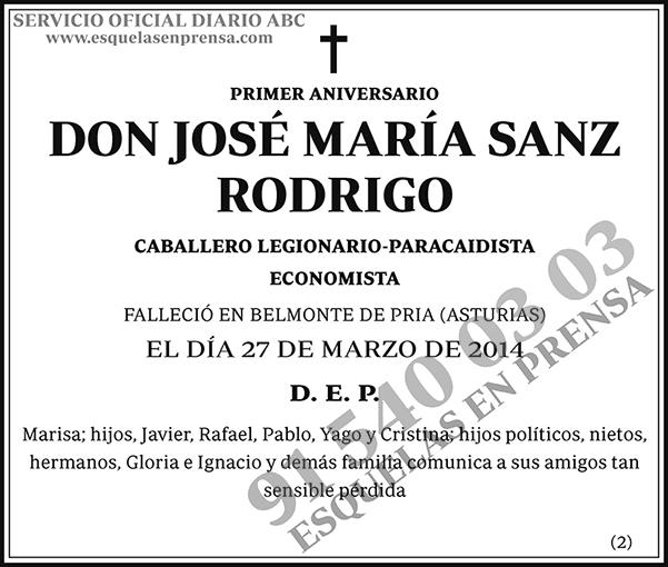 José María Sanz Rodrigo